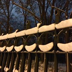 冬/雪/オブジェ/景色 冬の風物詩。 オブジェのような雪の造形。…