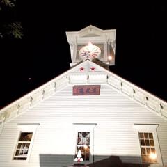 時計台/札幌/夜の観光/オススメ 夜の時計台は ライトアップされてて素敵で…