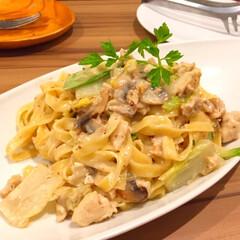 今日の美味しいモノ/イタリアン/忘年会/パスタ/大盛り 今日の美味しいモノ。 イタリアンで忘年会…