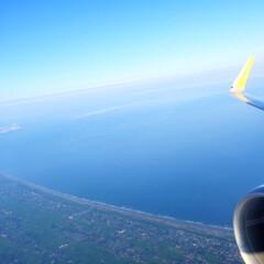 みんなにおすすめ/空の旅/窓側の席/景色/風景 空の旅。 私は、決まって窓側の席を選びま…