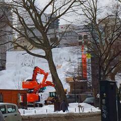 冬の1枚。/冬のイベント/さっぽろ雪まつり/冬 冬の1枚。 北海道札幌市の冬のイベント、…