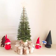 12月/クリスマス/クリスマスツリー/ニトリ/北欧風 12月ですね。 クリスマスまでのカウント…