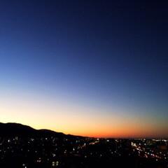 景色/風景/秋の一枚/夕暮れ/秋の空/秋 秋の一枚。 夕暮れがキレイでした。 秋は…