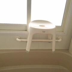 わたしのおうち自慢/お風呂場/椅子 /ヌメリなし/使ったら洗う/おうち 我が家のおうちのお風呂場です。 椅子は使…
