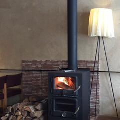 お気に入りの場所/札幌/椿サロン/暖炉/薪/お気に入り 私のお気に入り。 暖炉のある風景。札幌で…