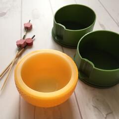 冬の一枚/おせち料理/おもてなし料理/料理用小鉢/お飾り/100均/... 冬の一枚。 おせち料理に彩を添えて。 1…