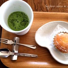 マドレーヌ/よーじやカフェ/抹茶ミルク/ユトリベルグ/京都/北海道 マドレーヌの笑顔がカワイイ^^ 北海道帯…