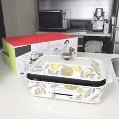 キッチンアイテム/おしゃれ/Brunoコンパクトホットプレート/おすすめアイテム/暮らし お気に入りのBRUNOのホットプレート。…