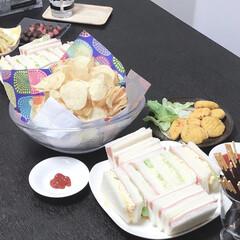 パーティー/お菓子パーティー/お菓子/おうちで楽しむ/おうちごはん 今年のお盆休はコロナウィルスの影響もあり…