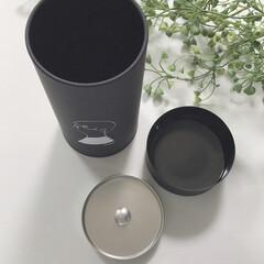 コーヒー缶/モノトーンインテリア/モノトーン/シンプルライフ/シンプル/おしゃれ コーヒー缶fikaのペアセットを購入しま…(4枚目)