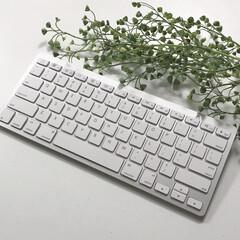 便利アイテム/なくてはならない物/キーボード/シンプルライフ/シンプル/おしゃれ シンプルなキーボード。打ちやすくてお気に…