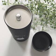コーヒー缶/モノトーンインテリア/モノトーン/シンプルライフ/シンプル/おしゃれ コーヒー缶fikaのペアセットを購入しま…(3枚目)
