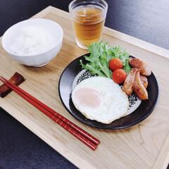 キッチングッズ/朝食/朝ごはん/簡単/便利グッズ/おすすめアイテム/... 今日の朝食♪時間がない時の簡単な朝ごはん…