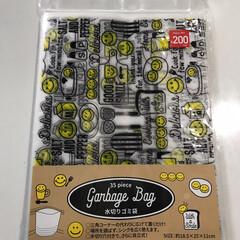 時短/キッチン/キッチングッズ/可愛い/便利グッズ/3COINS/... 3COINSの水切りゴミ袋はデザインが可…