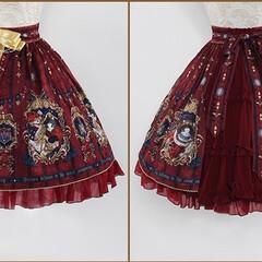 ドレス/スカート/ローリタ/夏のお気に入り オリジナル ローリタ ドレス スカート