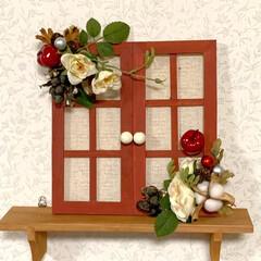 玄関/金木犀/実家/クリスマス/ダイソー/セリア/... おはようございます☁️☁️☁️ なんかは…