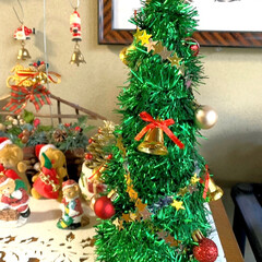 クリスマスリース/手芸用のスパンコール/オーナメント/クリスマスモール/🍘/工作/... こんばんは🌛 急に寒くなりましたね🥶  …(2枚目)