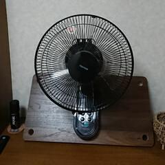扇風機/壁掛け ジモティーでテクノスの壁掛け扇風機を取り…