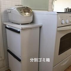 家事/ライフオーガナイザー矢部裕子/キッチンワークス/キッチン掃除/キッチン収納/暮らし キッチンのゴミ箱は2段でスリムなタイプを…