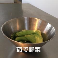 ライフオーガナイザー矢部裕子/limiaキッチン同好会/キッチン/住まい/おすすめアイテム/暮らし 野菜を茹でたら、保存容器としても使えます…