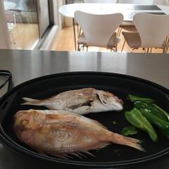 キッチン/ライフオーガナイザー矢部裕子/生活の知恵/おうちごはん/ラク家事/便利グッズ 小さめの鯛を丸ごと、ホットプレートで焼い…
