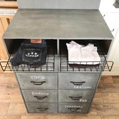 収納ケース/無印良品/インテリア/DIY/雑貨/100均/... 無印良品の収納ケースにカバーをつけて便利…