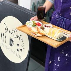 Cafe/ランチ/カフェ/看板/グルメ/フード/... 寝屋川にあるビーンズカフェのモーニングセ…