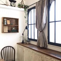 ターナー色彩 室内かべ用 ミルクペイントforウォール 水性塗料 450ml | ターナー(パテ)を使ったクチコミ「大掃除から脱線して窓枠を塗り替えました(…」(1枚目)