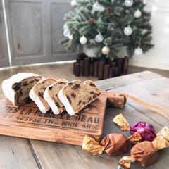 暮らしを楽しむ/カフェボード/クリスマス/Christmas/チョコレート/シュトーレン/... クリスマスまで少しずつ風味の変化を楽しみ…