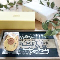 パッケージデザイン/パッケージ/らくがき屋gami/カフェトレイ/おやつタイム/クッキー/... 今日のおやつはエミタスのクッキー(*´◒…