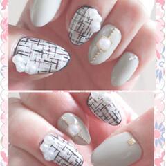 おしゃれ/ネイル/ファッション my nail♡ マツエクも一緒にしてき…