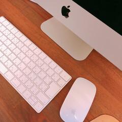 Apple/おNEWです/パソコン/暮らし 我が家のパソコンが新しくなりました (*…
