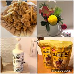ハンドクリーム/青山フラワーマーケット/ハニーバターアーモンド/チキン/新大久保 新大久保にチキンを食べに行って来ました♩…