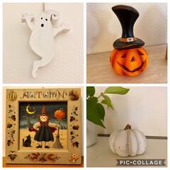トールペイント/おばけ/かぼちゃ/ハロウィン 今年も出番がやって来ました♩
