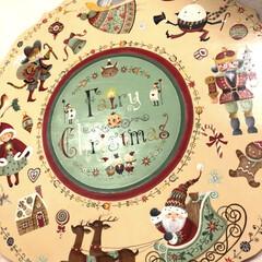 トールペイント/クリスマス/古屋加江子 何度も途中挫折しそうになった作品。 完成…(1枚目)