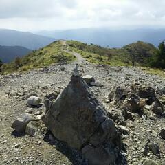 山登り 山登り行ってきました🎵 武奈ヶ岳、琵琶湖…