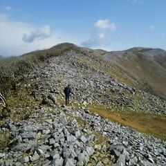 山登り 霊仙山  カレンフェルトの展望のいい山🎵