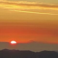 富士山 大台ヶ原から富士山🎵  この写真は山アプ…