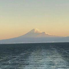 富士山 モルゲンロート