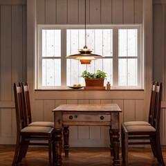 ライト/灯り/リラックス/食卓/インテリア雑貨/LED/... 照明を変えるだけで お部屋の雰囲気変わる…(1枚目)