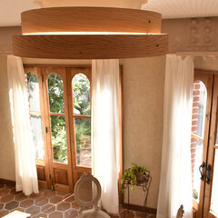 調色/調光/天井照明/照明/LEDシーリングライト/LED/... 選べる6種類の木枠♪  一般的なドーム型…(4枚目)