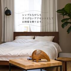 バッファロー/くま/チーク材/オブジェ/インテリア/リビング/... アンプールのおすすめitem✨  コロン…(2枚目)
