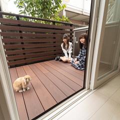 DIY/ウッドデッキ/彩木/MINO/アウトドアリビング/エクステリア/...