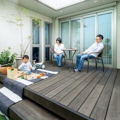 DIY/ウッドデッキ/キャンプ/おうちキャンプ/MINO/彩木/... (1枚目)