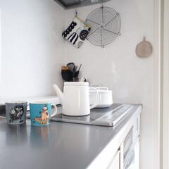 やかん/ケトル/野田琺瑯/朝活/白湯/キッチン雑貨/... 朝活。 毎朝必ず白湯を飲んでいます。 朝…