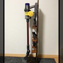 Seria/掃除機スタンド/ダイソン/DIY ダイソンスタンド ダイソンのスティックク…(3枚目)