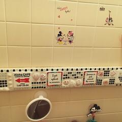 浴室/タイル/キャンドゥ/賃貸でもあきらめない/100均/ダイソー お風呂場にあった謎の木の部分 使い道もな…
