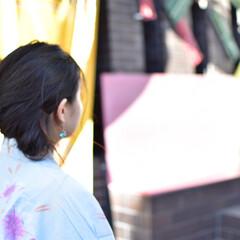 ポートレート/浴衣/浴衣デート/portrait/カップル/大切な人/... 有馬温泉に旅行に行った時に、2人で温泉街…
