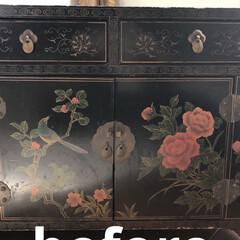 壁紙屋本舗/セリア/DIY/収納/雑貨/ハンドメイド/... 30年以上昔に買ってずっと使っていた家具…(3枚目)