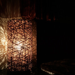 間接照明/照明器具/オシャレ/ルームライト/ニトリ/照明 寝る前の素敵な時間を演出してくれるニトリ…(1枚目)